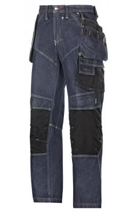 3255 Pantalon d'artisan Denim poches holster